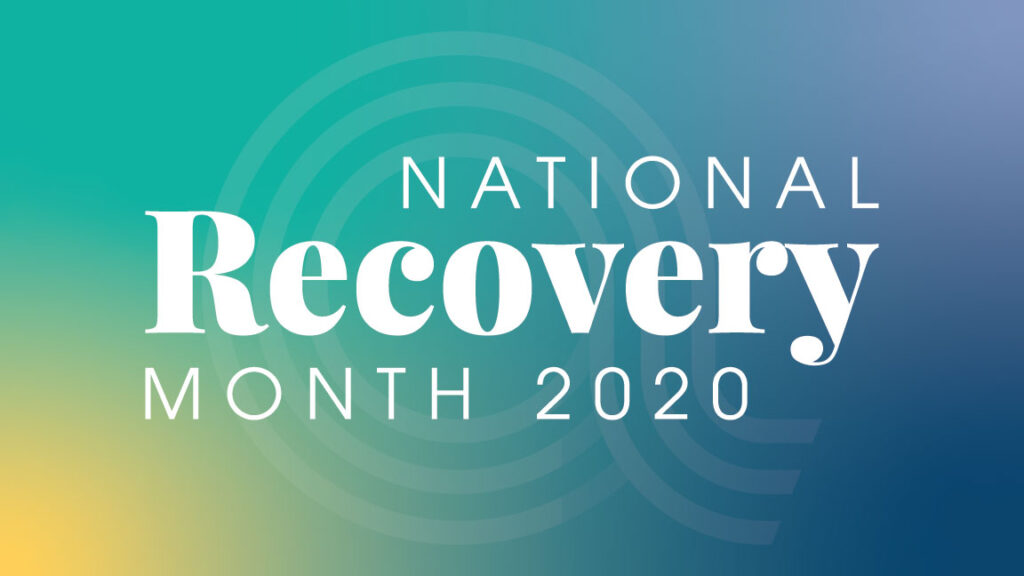 National Recovery Month 2020
